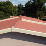 Painting of zinc roofs