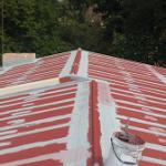 Waterproofing of zinc roof