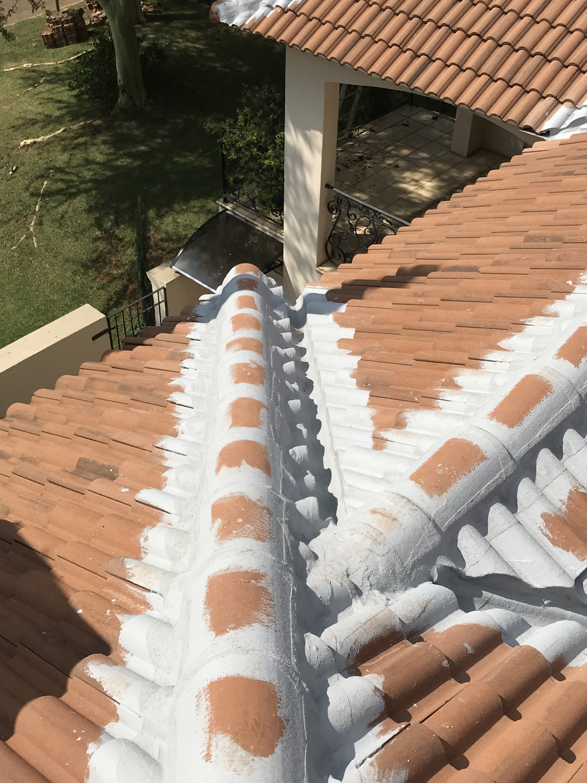 Tile roof maintenance