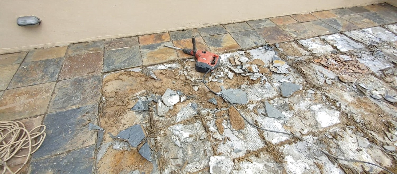 Waterproofing of concrete roofs and Balconies